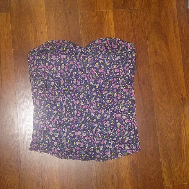 Preloved Corset Type Tube Top
