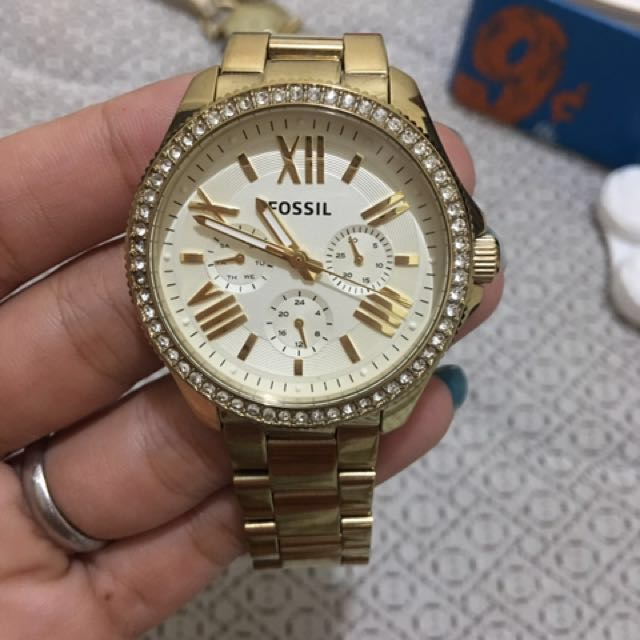 Preloved Fossil Watch
