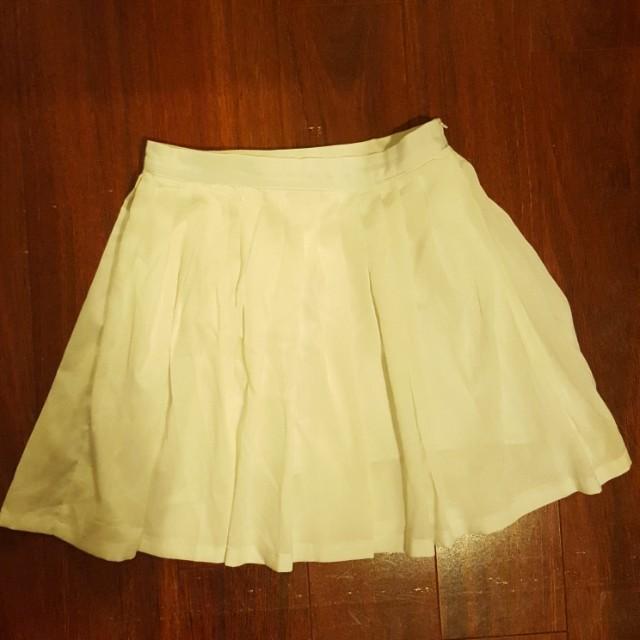 Princess Polly White A Line Skirt