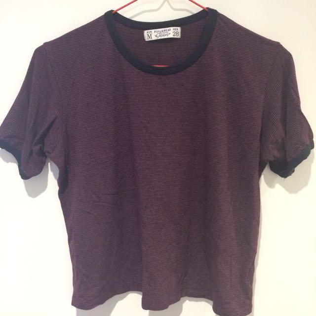 Pull & Bear box shirt size Euro M, MEX 28