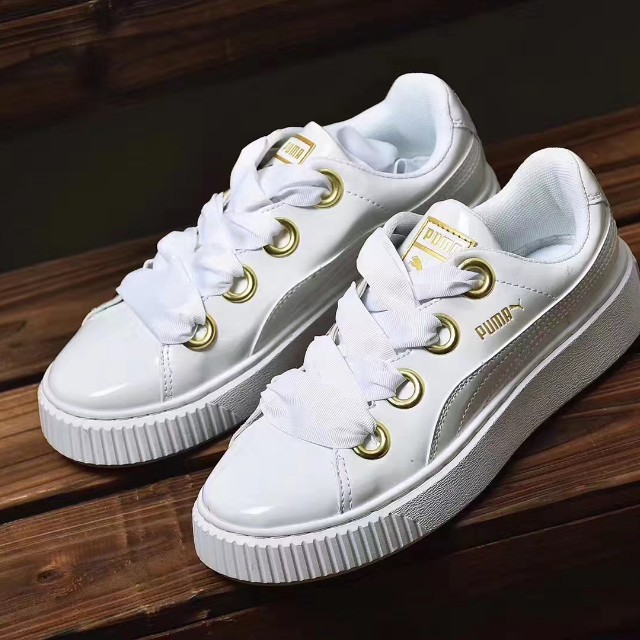 Kiss On Puma Basket Carousell PatentWomen's FashionShoes A35Rq4jL