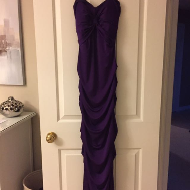 Purple Prom Dress/Evening Gown
