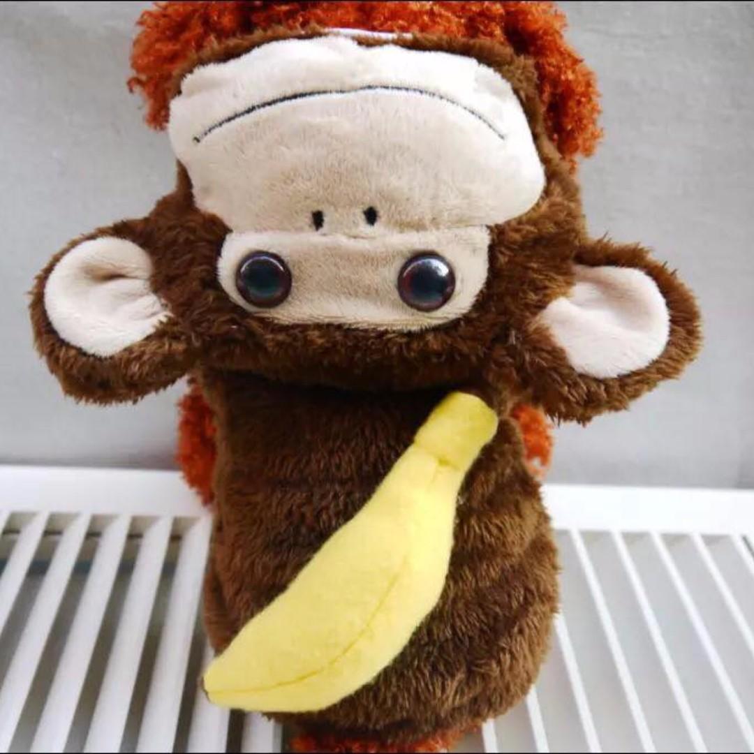超級Q香蕉猴子兩腳裝