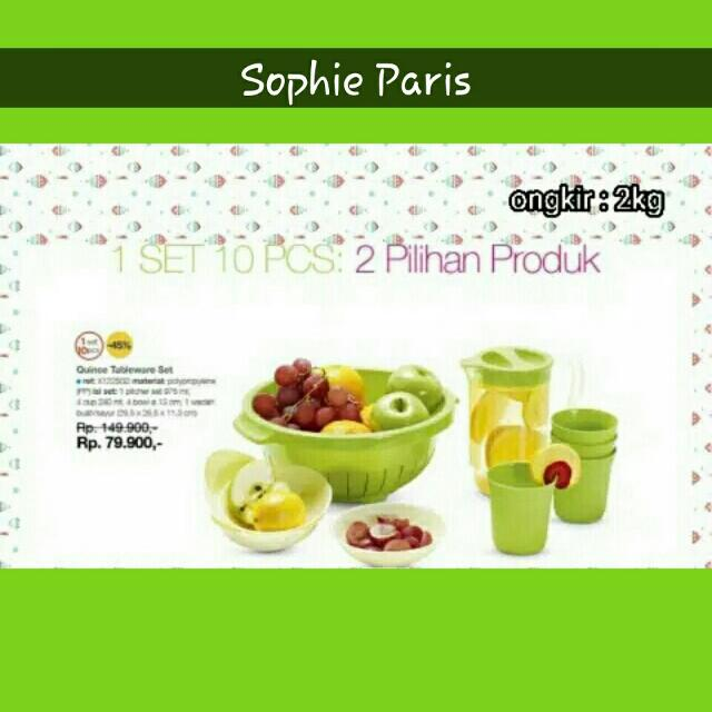 Quince Tableware SOPHIE PARIS
