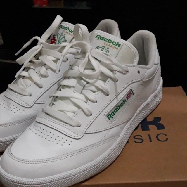 b84c0f78f50 Reebok classic club 85 (c85) white green 41men