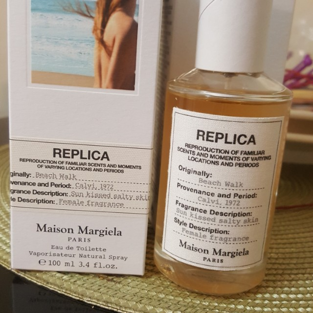 Replica by MAISON MARGIELA /beach walk