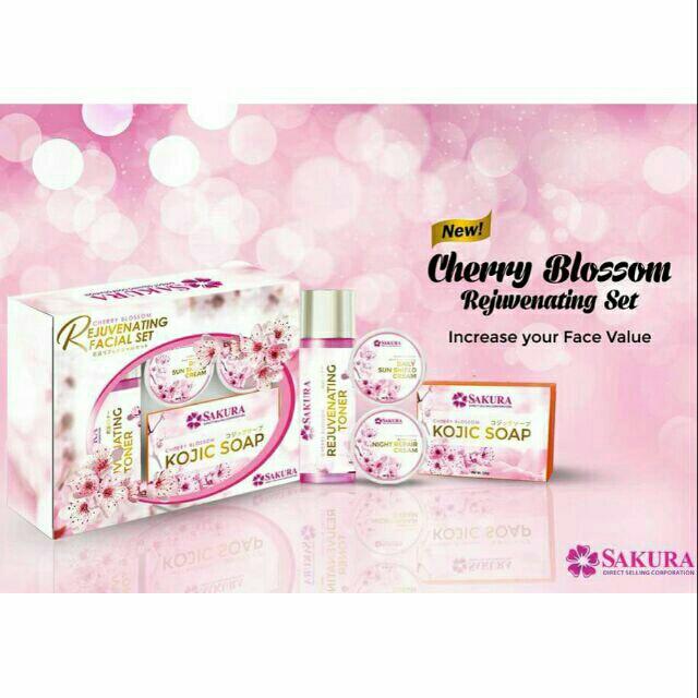 Sakura Cherry Blossom Rejuvenating Set #SALE