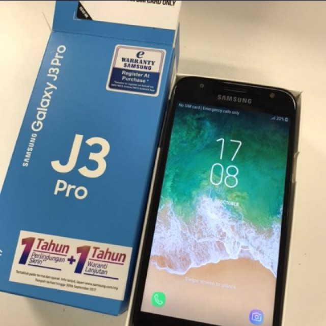 Samsung Galaxy J3 Pro Baru Pakai 2 Bulan Jual Rm650 Swap Iphone 6 Mobile Phones Tablets Android On Carousell