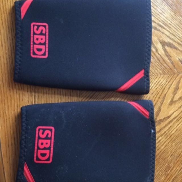 SBD Knee Wraps/sleeves/brace