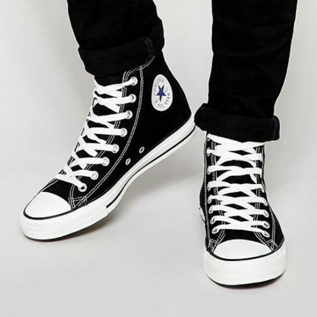 c27436d6c341d Sepatu Converse Ct As Basic Hi Black White Original *FreeOngkirJAWA, Men's  Fashion, Men's Footwear on Carousell