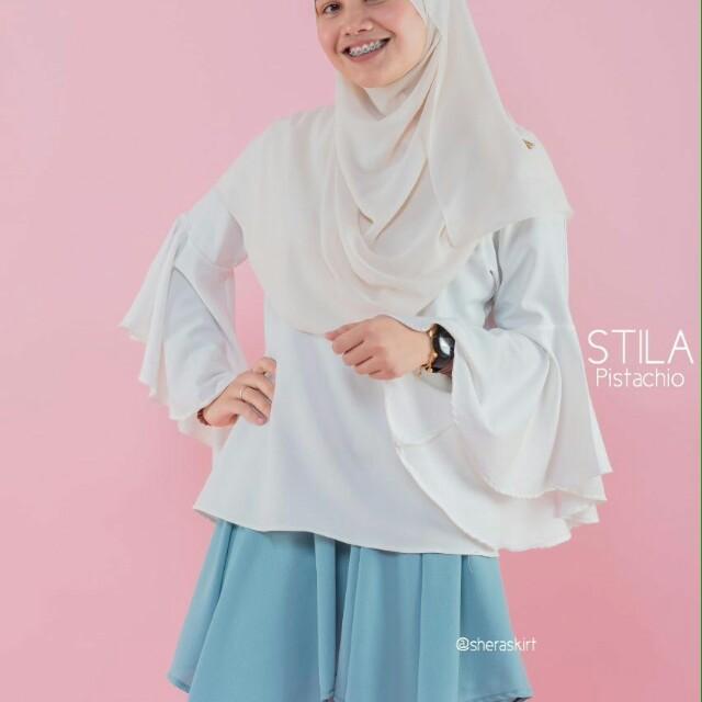 93e398abc STILA Mini Skirt - Pistachio, Fesyen Muslimah, Seluar/Skirt di Carousell