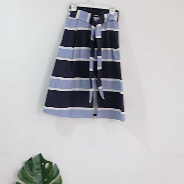 Stradivarius Striped Skirt