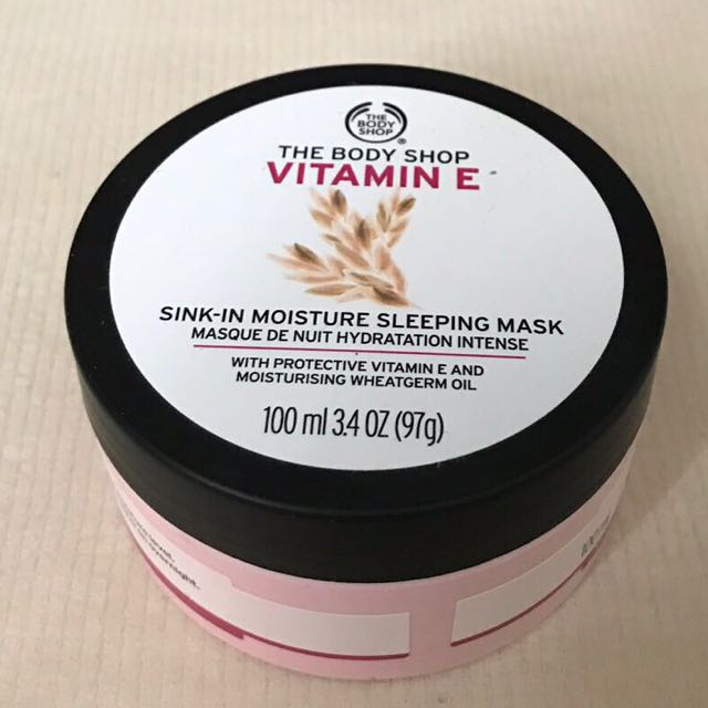 The Body Shop Vitamin E Sleeping Pack 100 ml