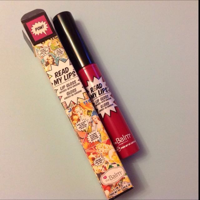 TheBalm The Balm Read My Lips Lipstick in Pow