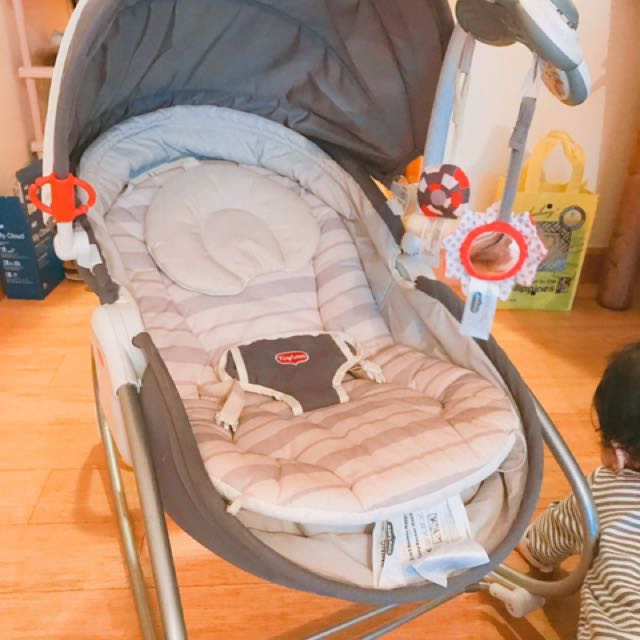 Tiny love baby bouncer&chair@bed