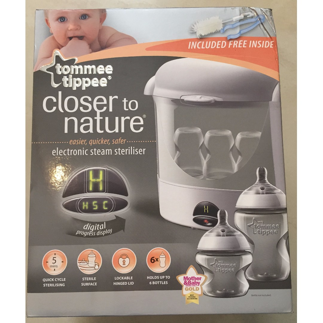Tommee Tippee Electronic Steam Steriliser