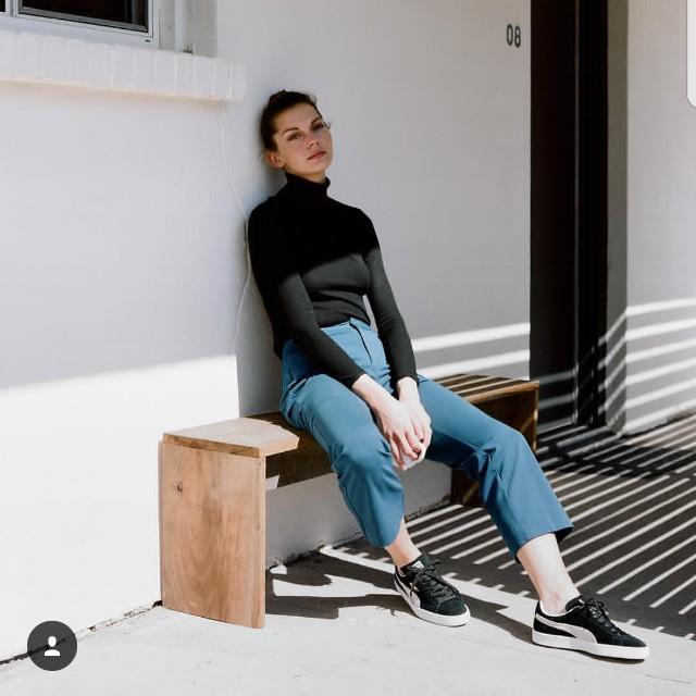Uniqlo pants size m warna hitam