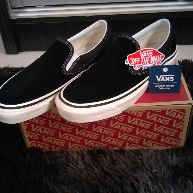 138d80287eb5 Vans Classic Slip-On 98 DX (Anaheim Factory) Black