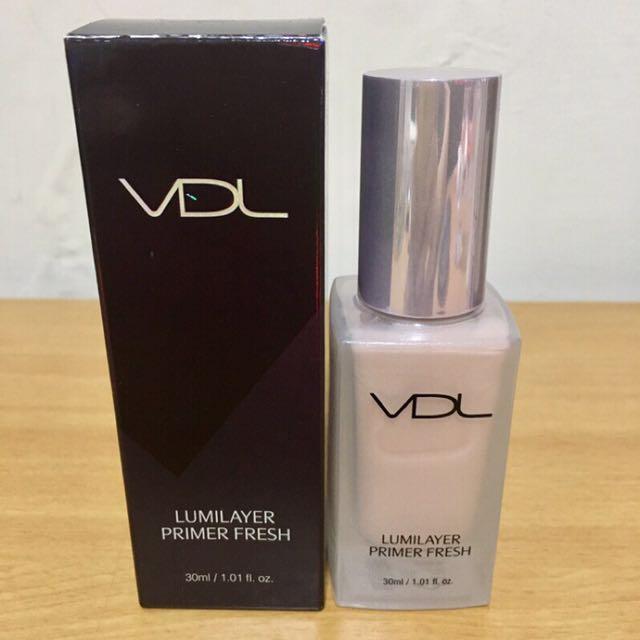 VDL粉色貝殼妝前提亮液貝殼乳