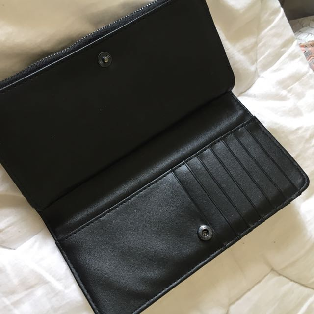 White/Black Colette Wallet