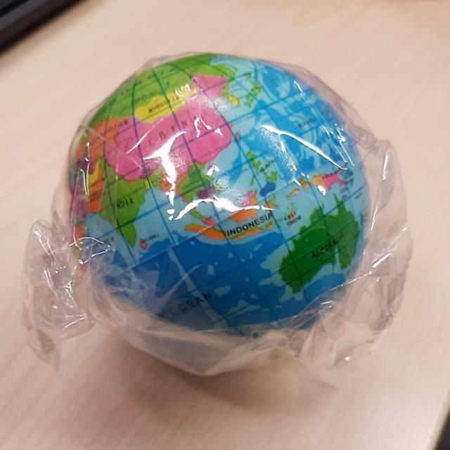 Globe stress ball toys games bricks figurines on carousell photo photo photo gumiabroncs Images