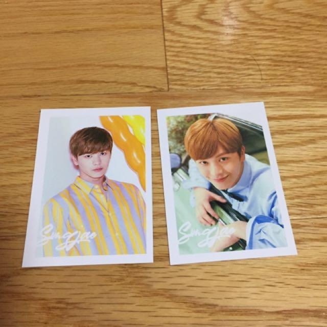 WTT Sungjae Brand New Days PCs-->Minhyuk
