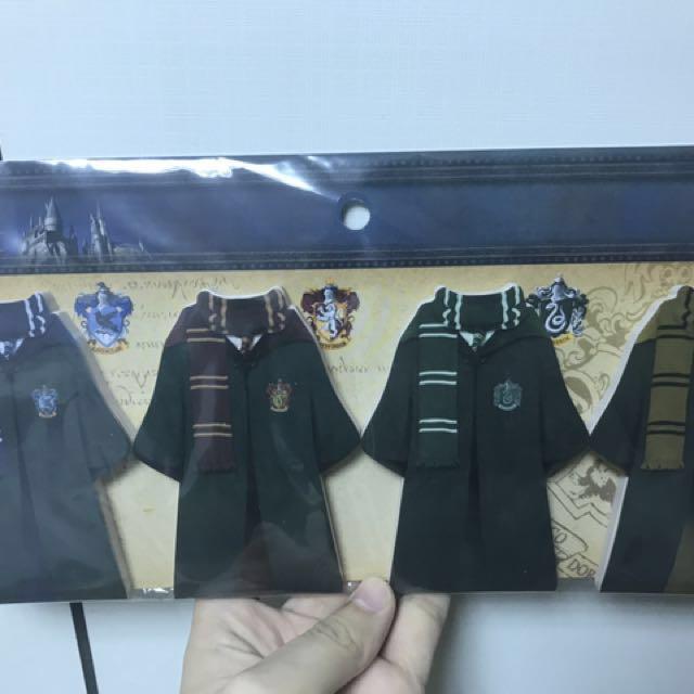 日本環球x哈利波特 學院袍造型便條紙 [免運費]