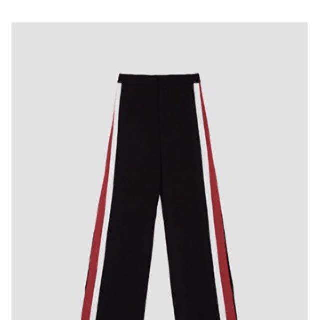 Zara Stripe Pants Cullotes