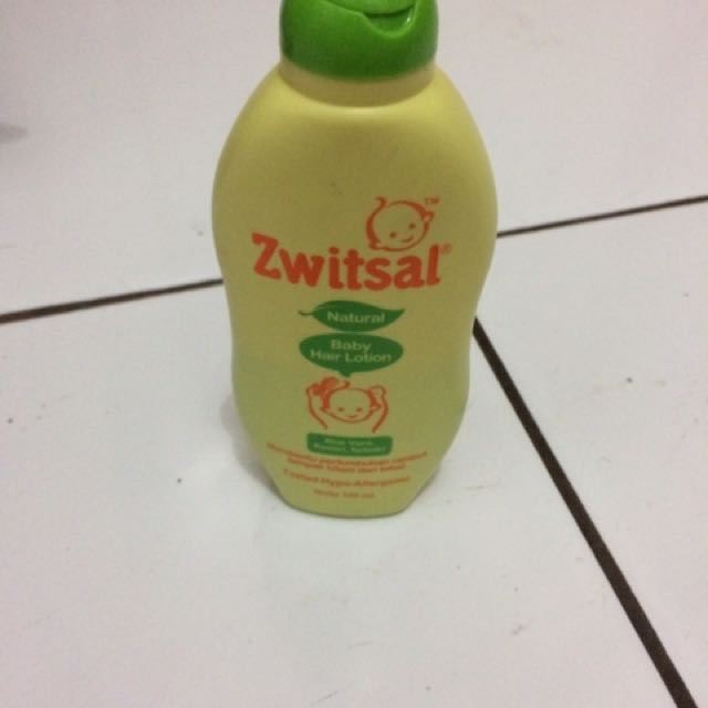 Zwitsal (baby hair lotion)