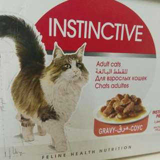 Royal Canin wet food- instinctive x 12packs