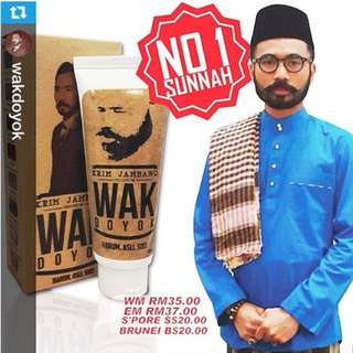 WAK DOYOK KRIM JAMBANG & RAMBUT [100% Authentic]