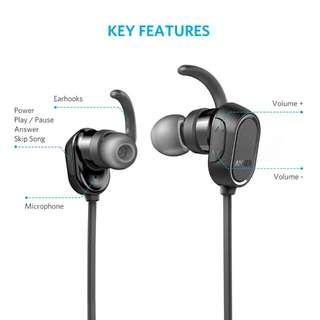 SoundBuds Sport Bluetooth Headphone