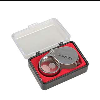 Magnifying Glass!l Jewelry Loupe!