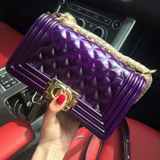 Jelly ToyBoy Purple Bag