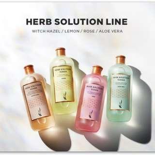 🚚 AHC 草本化妝水 機能化妝水 A.H.C Herb Toner 玫瑰/金鏤梅 超大容量 500ml 家庭號 化妝水