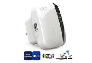 300Mbps Wifi Range 802.11n/g/b Extender Wireless Repeater
