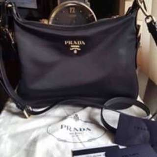 PRADA black sling bag