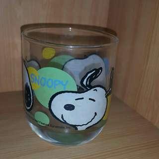 史努比 小玻璃杯
