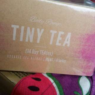 Tiny tea 14 day detox weightloss tea. Comes in sealed packaging
