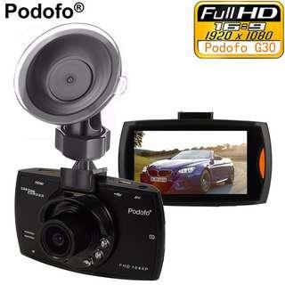 "Car Camera G30 Full HD 1080P 2.7"" Car DVR Recorder + Motion Detection Night Vision G-Sensor"
