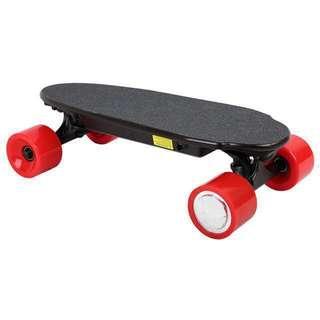 Mini portable electric skateboard
