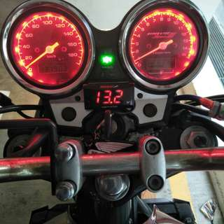 CB400 METER LED