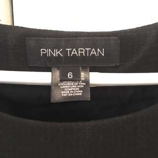 Black dress by Pink Tartan