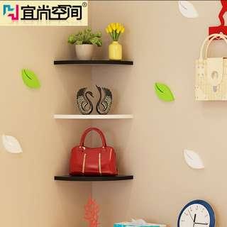 Mounted Corner Wall Shelf DIY BNIP