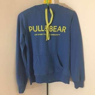 Blue hoodie - PULL & BEAR
