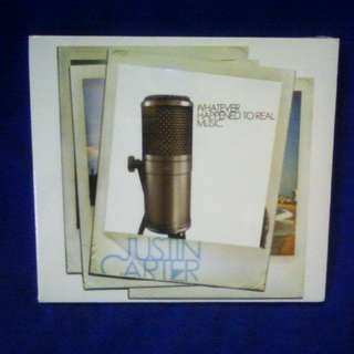 JUSTIN CARTER 'What Ever Happened To Real Music' CD BNWT Unopened