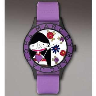 *price drop* Marc Jacobs Miss Marc Flower Watch, Purple