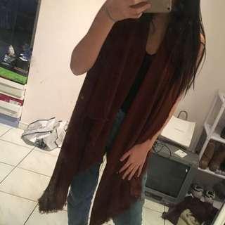 ZARA Autumn Brown scarf