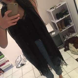 H&M black scarf