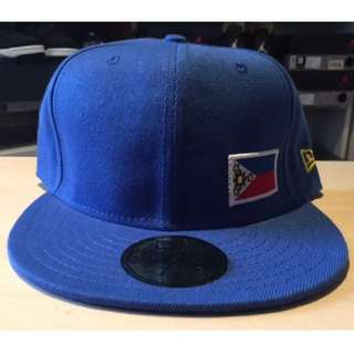 New Era 59 Fifty Philippine flag fitted cap *customised*
